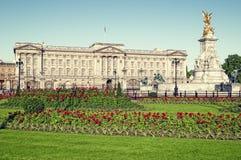 Buckingham Palace, Londres. fotos de stock royalty free