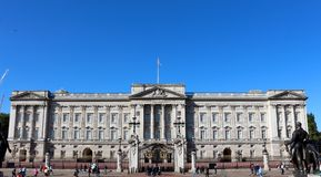 Buckingham Palace, Londres Image libre de droits
