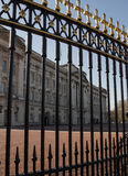 Buckingham Palace, Londres, Inglaterra Foto de Stock Royalty Free