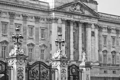 Buckingham Palace - Londres, Royaume-Uni Photo libre de droits