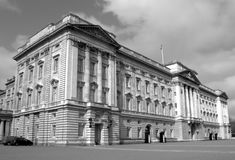 Buckingham Palace (monochrome picture) Stock Photos