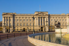 Buckingham Palace in the morning Royalty Free Stock Images