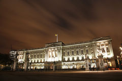 Buckingham Palace at Night Royalty Free Stock Image