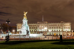 Buckingham Palace in the night, London Stock Photography