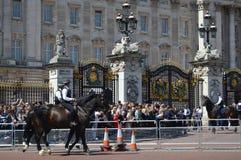 Buckingham palace Royalty Free Stock Images
