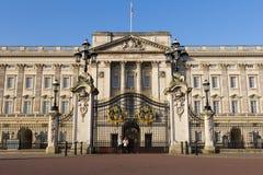 Buckingham Palace pendant le matin Images libres de droits