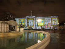 Free Buckingham Palace Projection Of Images Stock Photos - 24460063