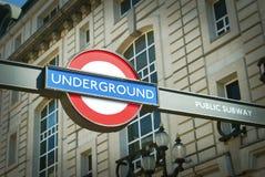 Public Subway London Royalty Free Stock Photo