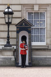 Buckingham Palace real del protector Imágenes de archivo libres de regalías