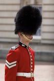 Buckingham Palace real del protector Foto de archivo