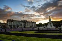 Buckingham Palace Reino Unido Fotos de archivo libres de regalías