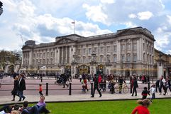 Buckingham Palace residence of British royal family, London, UK Stock Images