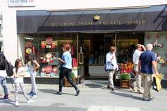Buckingham Palace shop Stock Images