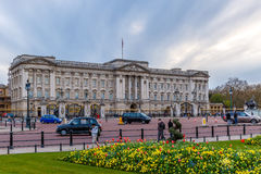 Buckingham palace in spring, Westminster Royalty Free Stock Photos