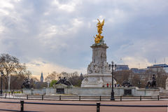Buckingham palace in spring, Westminster Stock Photos