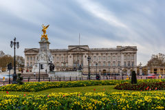 Buckingham palace in spring, Westminster Royalty Free Stock Photography