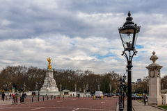 Buckingham palace in spring, Westminster Stock Images