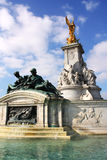 Buckingham Palace statues Royalty Free Stock Images