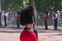 Buckingham Palace strażnik Obrazy Royalty Free