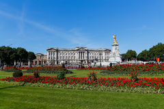 Buckingham Palace in the Summer Stock Image