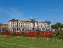 Buckingham Palace in the Summer Stock Photo
