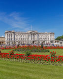 Buckingham Palace in the Summer Royalty Free Stock Photos