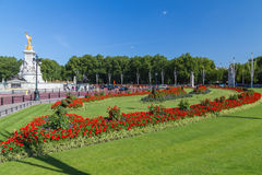 Buckingham Palace in the Summer Stock Images