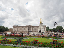Buckingham Palace and Victoria Memorial, the home of the Queen of England, London, summer 2016 Royalty Free Stock Images