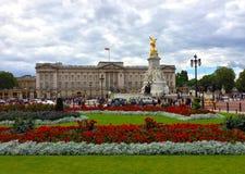 Buckingham Palace w lecie Fotografia Stock