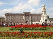 Buckingham Palace w lecie w Londyn Obraz Stock