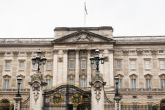 Buckingham Palace w Londyn, UK obrazy royalty free