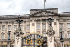 Buckingham Palace w Londyn, UK obraz royalty free