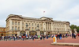 Buckingham Palace Westminster quadrata Londra Regno Unito Immagini Stock