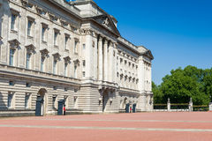 Buckingham Palace yard Stock Photos