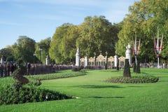 Buckingham-Palast Stockbild