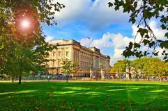 Buckingham-Palast London Lizenzfreie Stockfotos