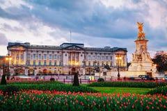 Buckingham-Palast in London, Großbritannien Stockfoto