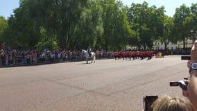 Buckingham pallace Arkivbilder
