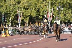 Buckinghampaleis Royalty-vrije Stock Foto's