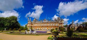 Buckinghamshire Regno Unito della casa di campagna della proprietà terriera di Waddesdon Fotografie Stock