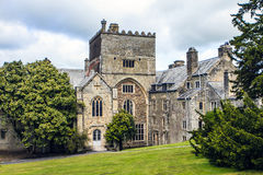 Buckland Abbey, Yelverton, Devon, England. Buckland Abbey and with his gardens. A former cistercian abbey, founded in 1278. In 1581 it was purchased by Francis stock image