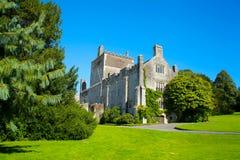 Buckland abbotskloster i den tamar dalen royaltyfria bilder