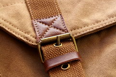 Buckle on bag Royalty Free Stock Photos