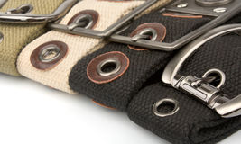 Buckle Belt Background Royalty Free Stock Images