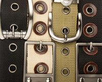 Buckle belt background Royalty Free Stock Photo