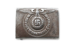 Buckle of a corp of German combat troops royalty free stock images