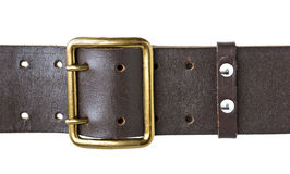 Buckle military belt Royalty Free Stock Images