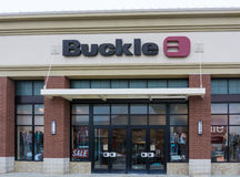 The Buckle Retail Store Exterior Royalty Free Stock Image