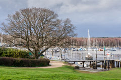 Bucklers hard harbour Stock Images