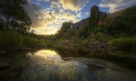 Buckley Falls, Austrália Fotografia de Stock Royalty Free